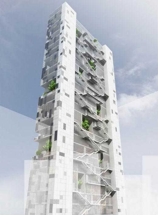 Solaris Tower Bernard Mallat Architects