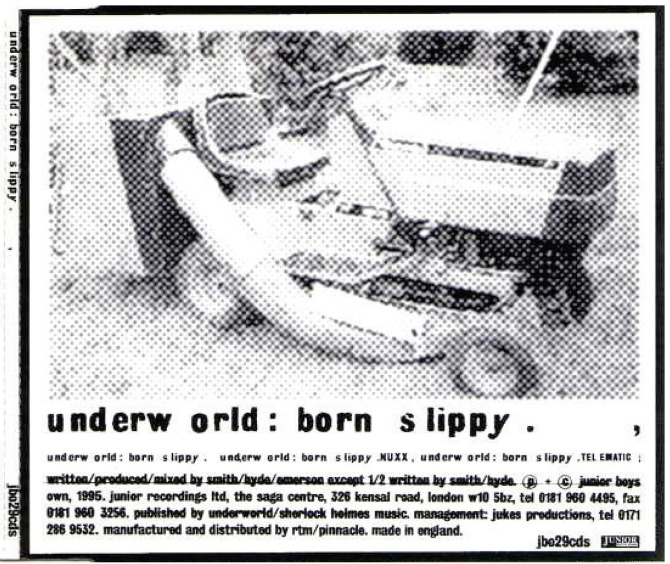 Underworld record sleeves graham wood work with john warwicker karl hyde jason kedgely dylan kendle simon taylor fandeluxe Images