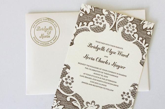 Graphic Design Wedding Invitations: Haley Titus' Graphic Design Portfolio