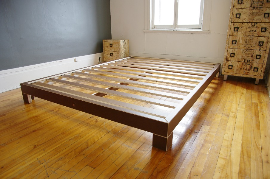 Base Lit Double En Bois : Backing bed – L'autre Atelier – ?b?niste ? Montr?al